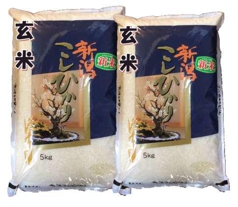 画像1: 【玄米】令和2年産・新潟県産 特選コシヒカリ10kg[石抜き処理済] (1)