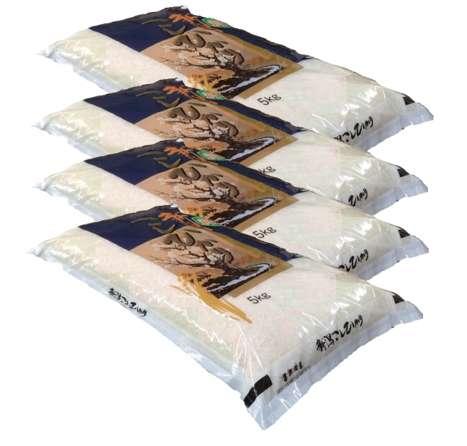 画像1: 【無洗米】令和2年産・新潟県産 特選コシヒカリ20kg(5kg×4袋) (1)