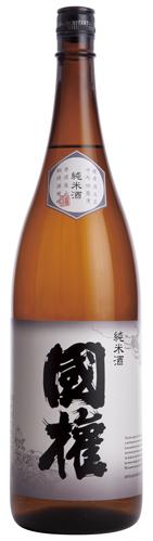 画像1: 国権 「純米酒」 1.8L (1)